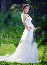 恬美婚纱少女清新写真美图