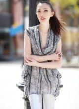 校花张莫霏新作品展示《时尚COSMO》
