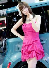 看不够的迷人韩国美女车模—韩敏智