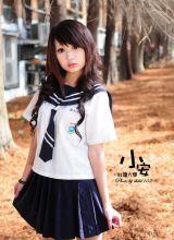 台湾大学大眼美女小安