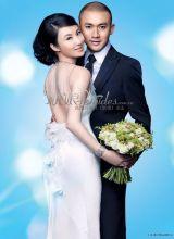 聂远老婆王惠拍《新娘》封面