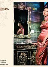 复古版旗袍系列摄影