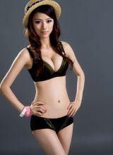 香港车展Model超赞胸围写真
