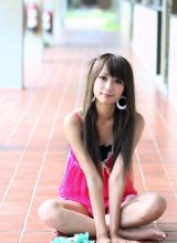 美丽长腿美女金美姬清纯写真照