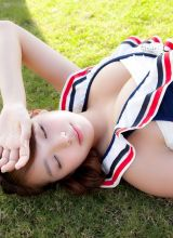 爱吃面条的日本巨乳女忧泳装写真