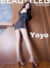 性感模特YOYO内衣迷人长腿写真