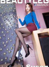 美腿模特Susan迷人丝袜长腿诱惑