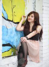 美女谢翔雅清纯丝袜可爱迷人