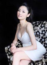 日本混血美女林丹丹写真