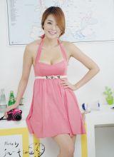韩国甜美的粉嫩美少女李舒情甜美写真集