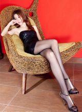 成熟黑丝美女腿模高清摄影