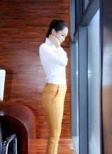 美女办公室长腿迷人写真