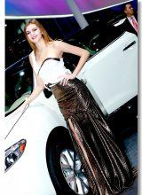 明星美女车模与豪车的绝配