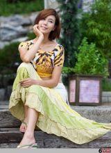 韩国美女的豹纹诱惑
