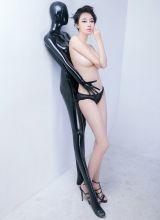 全裸的人体模特美眉倪婷婷