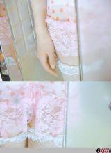 粉胸可爱的小妹妹睡衣照